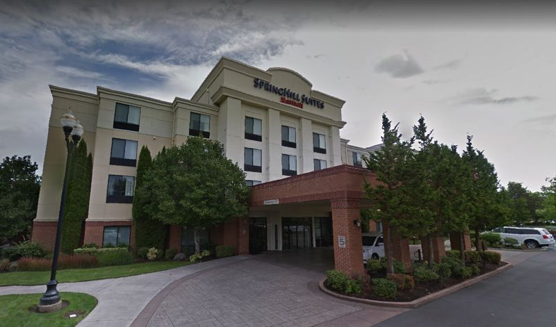 VIA GOOGLE MAPS - The Springhill Suites Hotel at 7351 N.E. Butler St. is shown here.