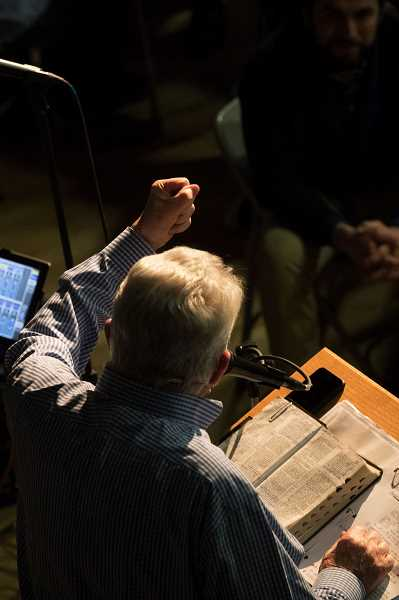 PMG FILE PHOTO: JAIME VALDEZ - Luis Palau has been a prominent evangelist throughout his life.