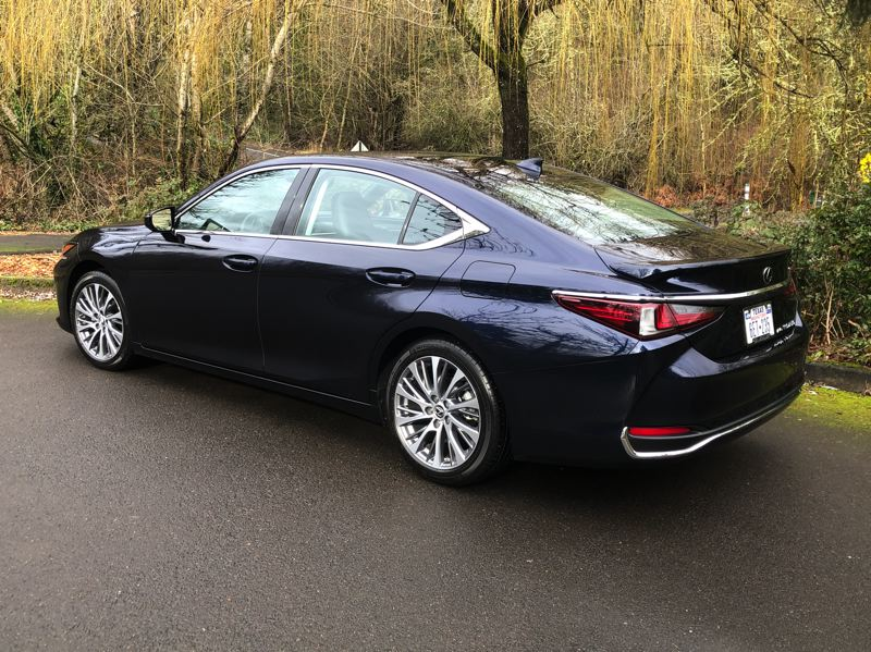PMG PHOTO: JEFF ZURSCHMEIDE - The 2021 Lexus ES 250 AWD comes standard with a 2.5-liter, four-cylinder engine that produces 203 horsepower and 184 foot-pounds of torque.