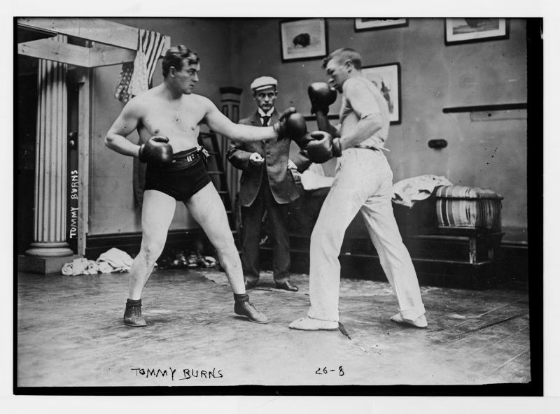 COURTESY PHOTO: BRUCE HANEY - Boring residents hiring a prizefighter boxer to knock the town bully down a few pegs is one of the stories covered in the book.