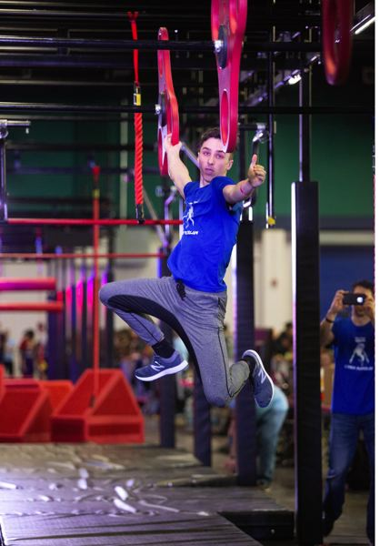 COURTESY PHOTO - Caiden Madzelan, a Reynolds High sophomore, has competed against juniors and adults in obstacle racing. He'll be part of the American Ninja Warrior qualifying competition later this month in Tacoma, Washington.
