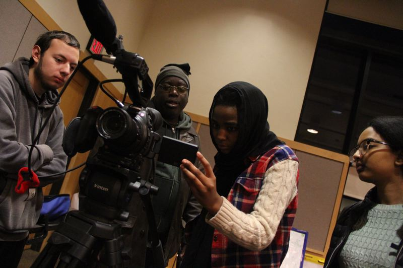 COURTESY: ELIJAH HASAN - As a teaching artist, Elijah Hasan helps young people learn how to express themselves through creative media such as filmmaking, photography, music and writing.