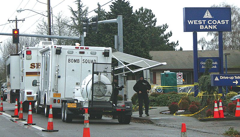 PMG FILE PHOTO - A fatal bombing in Woodburn in 2008 was the beginning of the troubles for Officer Craig Halupowski, he says.