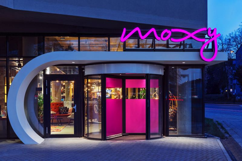 COURTESY: MOXY BY MARRIOTT - The Moxy by Marriott has opened in downtown Portland, just in time for 'moderate risk' fun times.