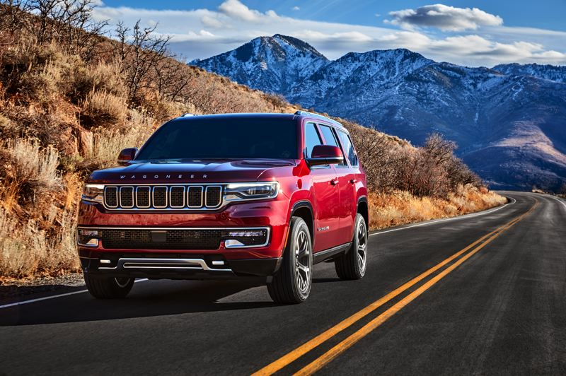 COURTESY STELLANTIS - The all-new Jeep Wagoneer will feature a 5.7-liter V8 and a choice of three different four-wheel-drive systems.