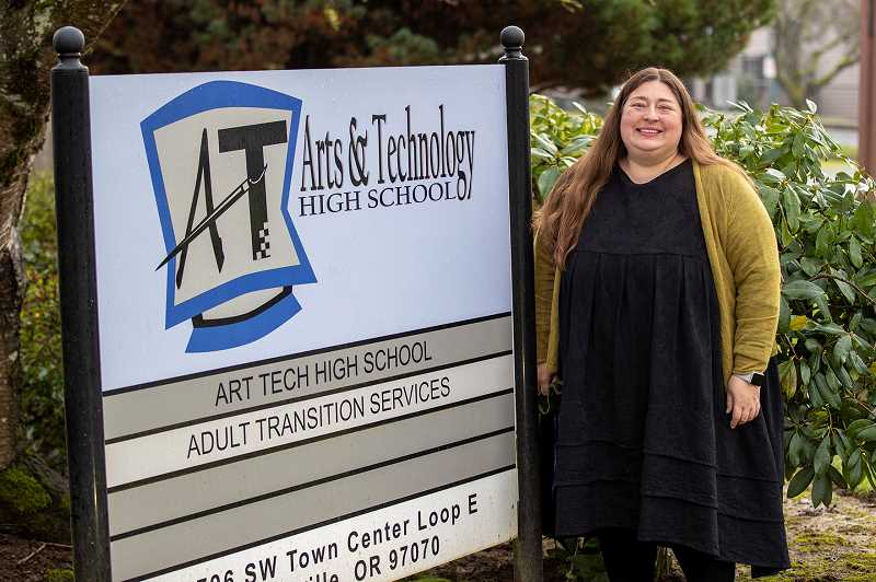 PMG FILE PHOTO - Arts and Technology Principal Saskia Dresler will leave the school March 22 as she moves on to a job with the Oregon Department of Education.