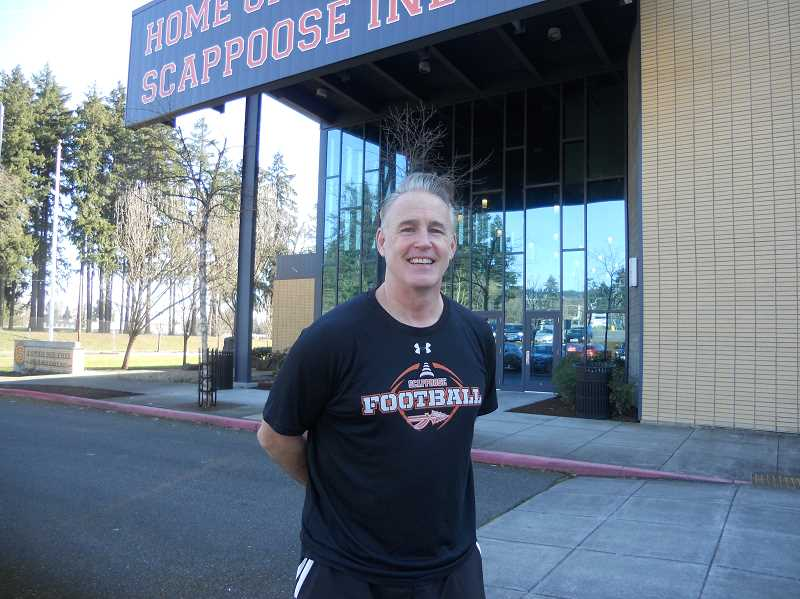 PMG PHOTO: SCOTT KEITH - Sean McNabb is the head football coach at Scappoose High School.