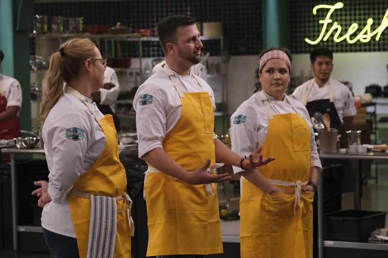 COURTESY PHOTO - Gabriel Pascuzzi said he welcomes the competition and judging on such shows as 'Top Chef.'