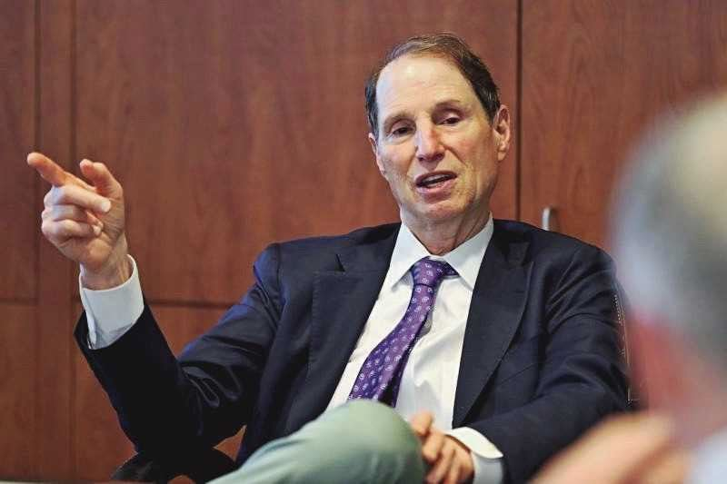 PMG FILE PHOTO - U.S. Sen. Ron Wyden, D-Ore., said Congress did its job in extending unemployment benefits to people hard-hit by the pandemic.