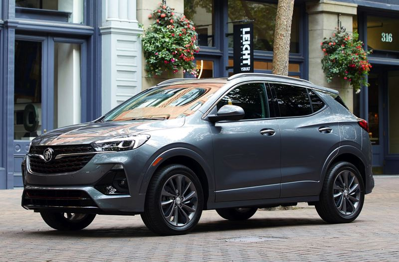 COURTESY BUICK - The Sport Touring version of the Buick Encore GX features unique16-inch wheels and special trim to give it a sportier look and feel.