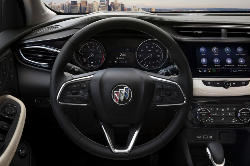 COURTESY BUICK - All controls are easy to find and use in the Buick Encore GX.