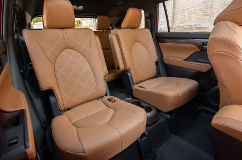 COURTESY TOYOTA - The 2021 Toyota Highlander offers 7- and 8- passenger seating, depending on whether the second row is a bench or two captain chairs.