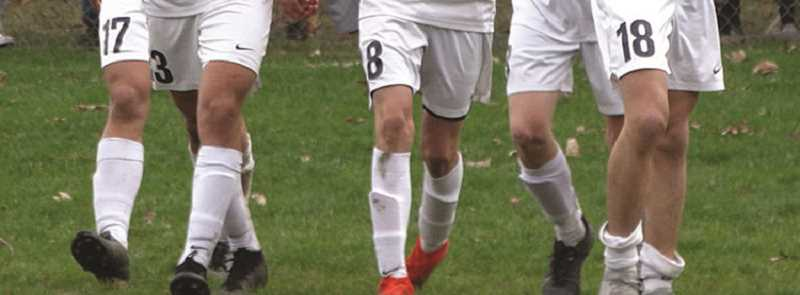 FILE PHOTO - The Canby High boys soccer team is showing improvement and recorded its first goal in Monday's match.