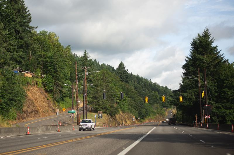 PMG FILE PHOTO - Highway 30 could be renamed to honor Oregon veterans under legislation making its way through the 2021 session in Salem.