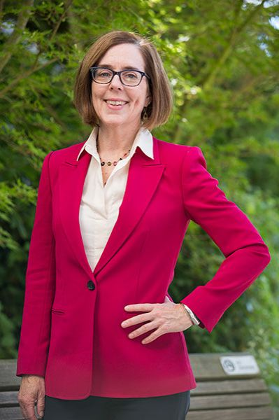 COURTESY PHOTO - Gov. Kate Brown calls on lawmakers to extend health insurance coverage to the 6% of Oregon adults who still lack it. She testified Tuesday, March 16, on behalf of House Bill 2164 pending in the House Health Care Committee.