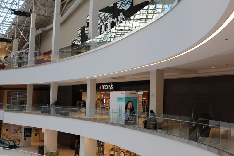 PMG: JOSEPH GALLIVAN - Economic Impact Payments or EIPs landed in Portland in Wednesday March 17, 2021, at $1,400 for adults making $75,000 or less. Portlanders could spend their stimulus checks at Lloyd Center mall, although Macy's has closed.