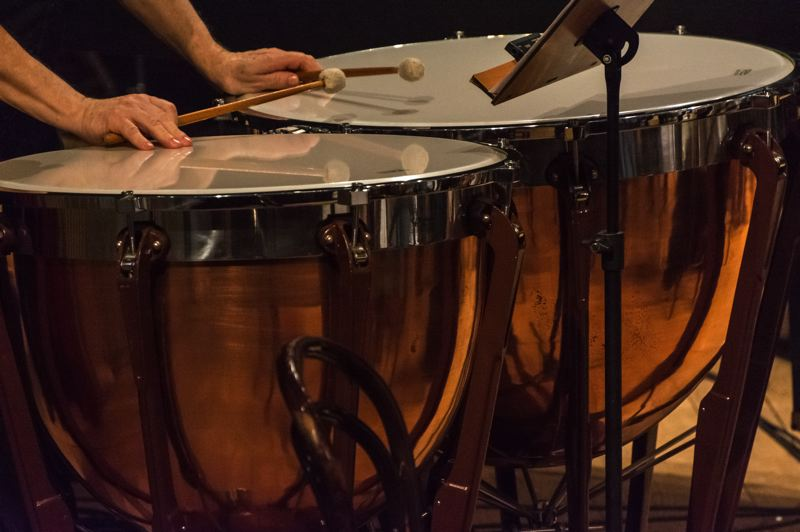 COURTESY PHOTO: MARCELO LEAL FOR UNSPLASH - The Portland Columbia Symphony will play a free virtual concert at 7 p.m. Friday, March 26. Called Percussion and Friends. See story for details.