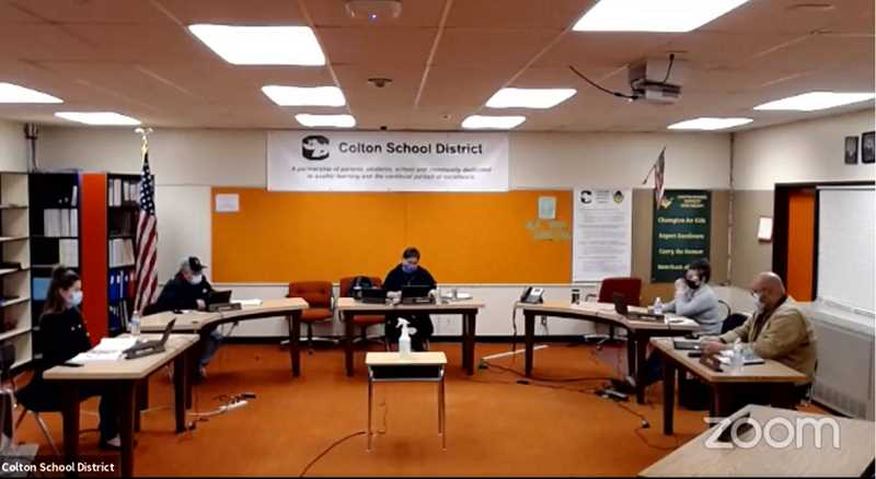 FACEBOOK - The Colton school board is holding back to back private meetings to discuss hearing complaints, disciplining or dismissing a public official or district staffer.