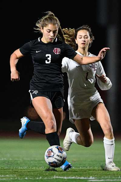 PMG FILE PHOTO: CHRISTOPHER OERTELL - Forest Grove's Makaila Takahashi during a Vikings game last season.