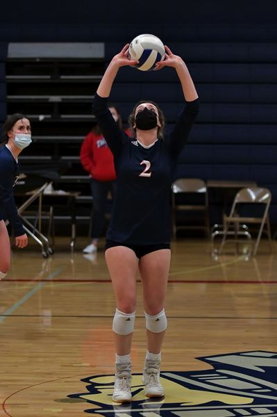COURTESY PHOTO: ANDRE PANSE - Ellie Cantu returns as the teams setter, marking her fourth year of varsity play.