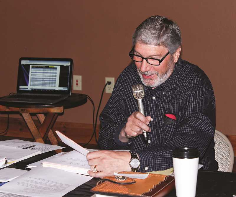 CENTRAL OREGONIAN - Rotarian Ken Fahlgren spends some time on the airwaves during the 2019 Rotary on the Radio. The event will be virtual this year.