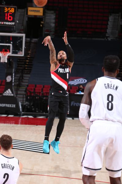 COURTESY PHOTO: TRAIL BLAZERS - Damian Lillard was held scoreless in the fourth quarter and made only one third-quarter basket and scored five points after halftime.