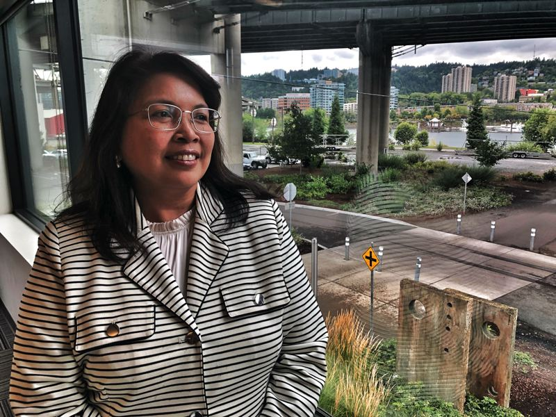 PMG FILE PHOTO - Jan Mason is with the Portland firm of Mackenzie and a volunteer for the Philippine American Chamber of Commerce of Oregon.