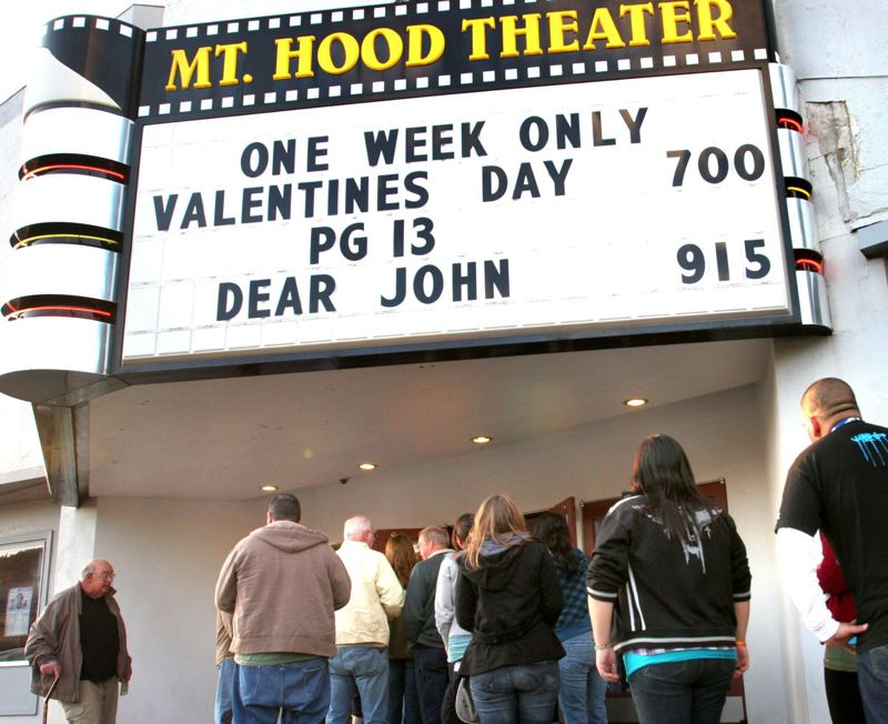 PMG FILE PHOTO - Gresham's Mt. Hood Theater sold popcorn to maintain a cash flow during the pandemic shutdown.