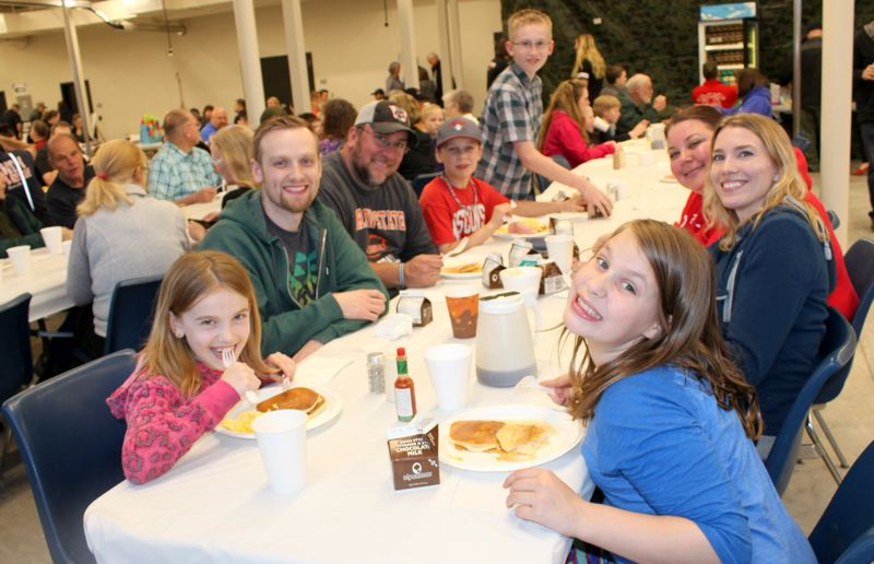 COURTESY PHOTO - The Sportsman's Breakfast is the Volunteer Firefighters Associations largest fundraiser of the year, often bringing in thousands of supporters for pancakes and socialization throughout multiple days in April.