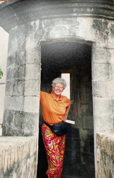 COURTESY PHOTO: JEANNE MULLEN - In 1995, Betty Dargis went to Puerto Rico in search of answers about her family history.