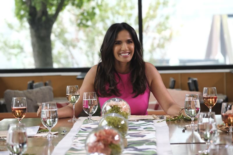 COURTESY PHOTO: BRAVO NETWORK - Padma Lakshmi is the host of 'Top Chef,' and an Indian-American author, activist and model.