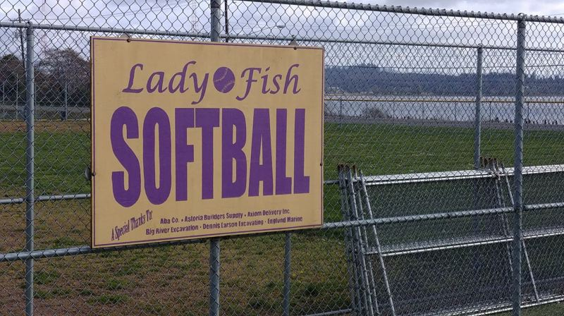 PMG PHOTO: PHIL HAWKINS - The Astoria School District is contemplating removing the 'Lady Fish' name for its girls high school athletics. The Astoria boys teams are referred to as the Fishermen.