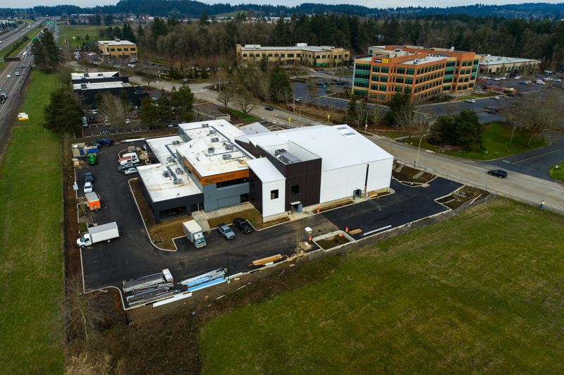 COURTESY PHOTO: GRACE CHAPEL/CASEY OVERCAMP - Grace Chapel in Wilsonville is opening a new facility that will have an auditorium and other meeting spaces for church services and community use.
