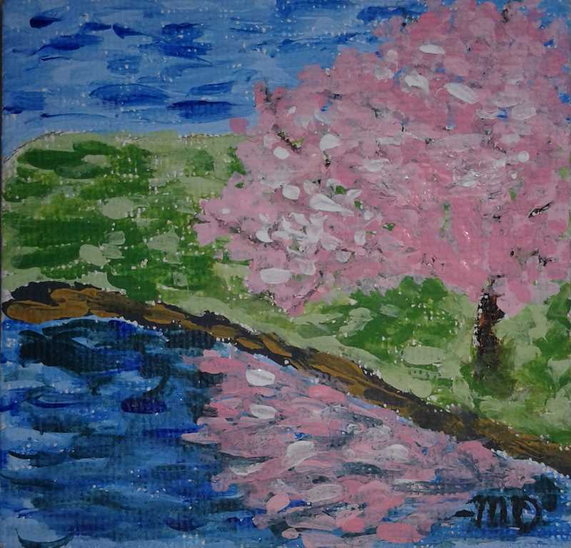 'The Tree by the River' comes from Molalla freshman Millenia Dahl.