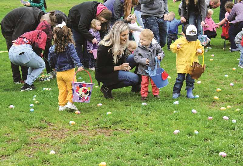 CENTRAL OREGONIAN - The Easter egg hunt will take place at the Crook County Fairgrounds, the same location as the 2019 hunt, shown above.