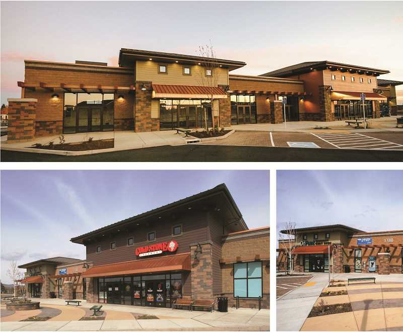 COURTESY GRAPHICS  - Ertel Development Partners developed the south Redmond Town Center that includes a Starbucks. The company, in the longer term, plans a similar project for the south Madras site. However, negotiations on access with ODOT will be a key element as to whether the developer moves forward on the project at all.