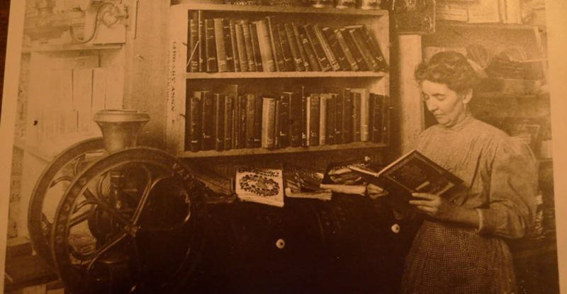COURTESY PHOTO: METRO REGIONAL GOVERNMENT - Greshams first female postmaster, Iona McLaughlin Linnemann McColl, established a library for residents in a room above the post office in the late 1800s.