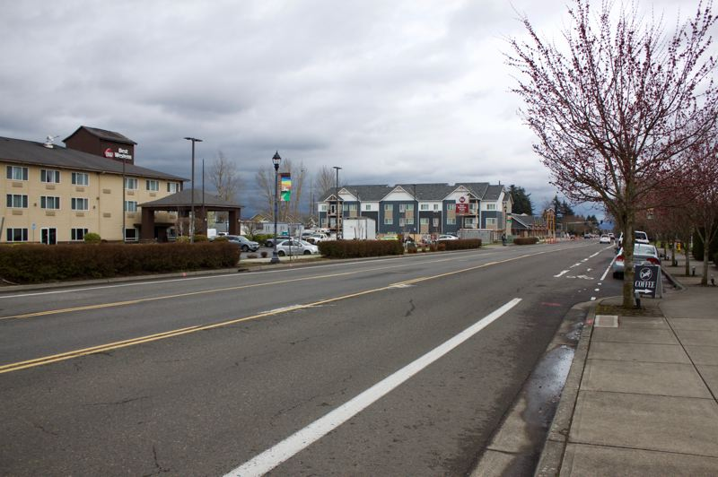PMG PHOTO: CHRISTOPHER KEIZUR - Changes are coming to the Halsey corridor as Fairview, Wood Village and Troutdale enact zoning changes to encourage development.