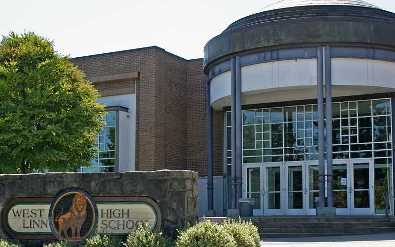 PMG FILE PHOTO - West Linn High School reported a confirmed case of COVID-19 Wednesday, March 31. Anyone in contact with the person will be contacted and school continued Wednesday.