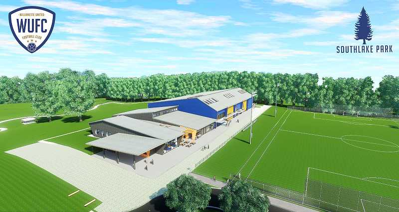 COURTESY PHOTO: WUFC - WUFC has plans to build a youth sports complex off Borland Road in Stafford.