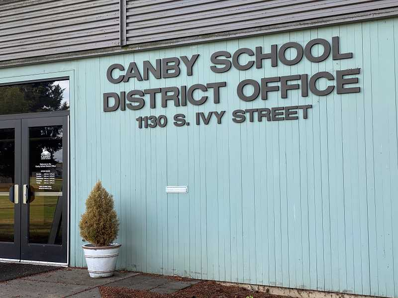 PMG FILE PHOTO - Canby School District is using GR Recruiting firm to seek a new superintendent by June 2.