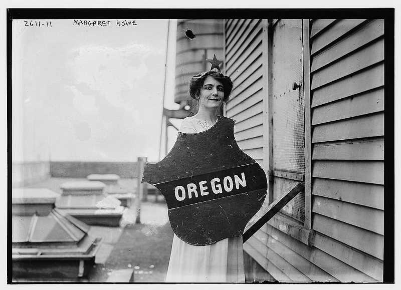 COURTESY PHOTO: LIBRARY OF CONGRESS, PRINTS & PHOTOGRAPHS DIVISION, LC-B2-2611-11 - The ACC offers a chance to check out a new exhibit on women's suffrage.