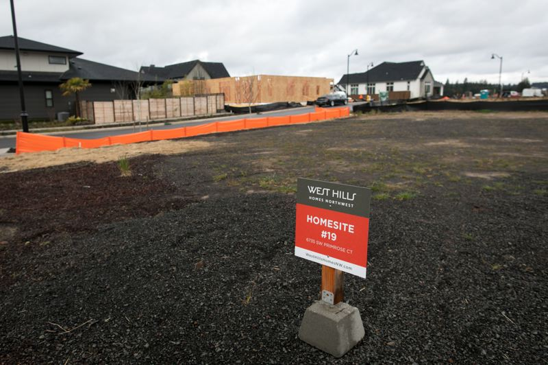 PMG FILE PHOTO - While housing development in Wilsonville's Frog Pond West neighborhood (pictured here) continues, development in the nearby Frog Pond East and South future neighborhoods could be shelved depending on an Oregon Court of Appeals ruling.
