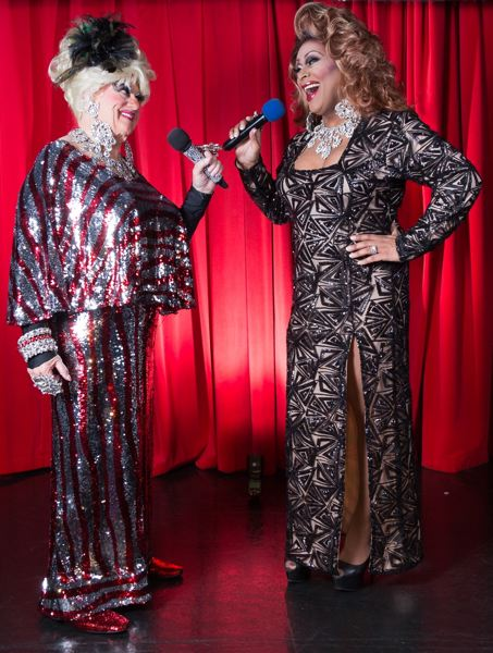 COURTESY PHOTO - Darcelle (left) and Poison Waters are longtime collaborators at Darcelle XV Showplace.
