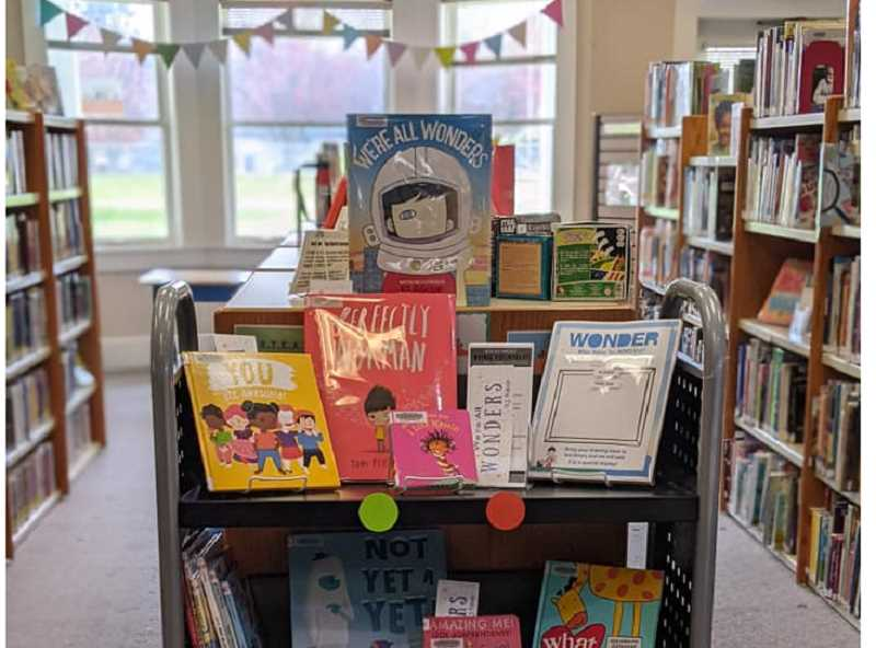 COURTESY PHOTO: SCAPPOOSE PUBLIC LIBRARY - The library recently received a grant to purchase books and put together activity kits and information for parents around social-emotional skills for young kids.