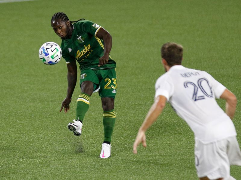 PMG PHOTO: JONATHAN HOUSE - After scoring four goals and supplying eight assists in his first MLS season, a more settled Yimmi Chara might become a more dangerous attacker in 2021.