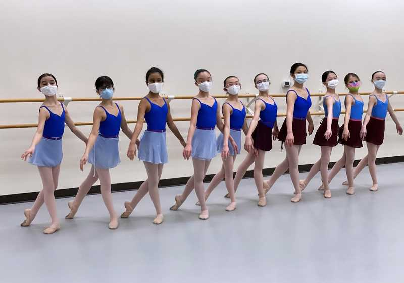 COURTESY PHOTO: SULTANOV RUSSIAN BALLET ACADEMY - Students at the Sultanov Russian Ballet Academy will perform at this years Spring Showcase on June 5, at the Sherwood Arts Center.