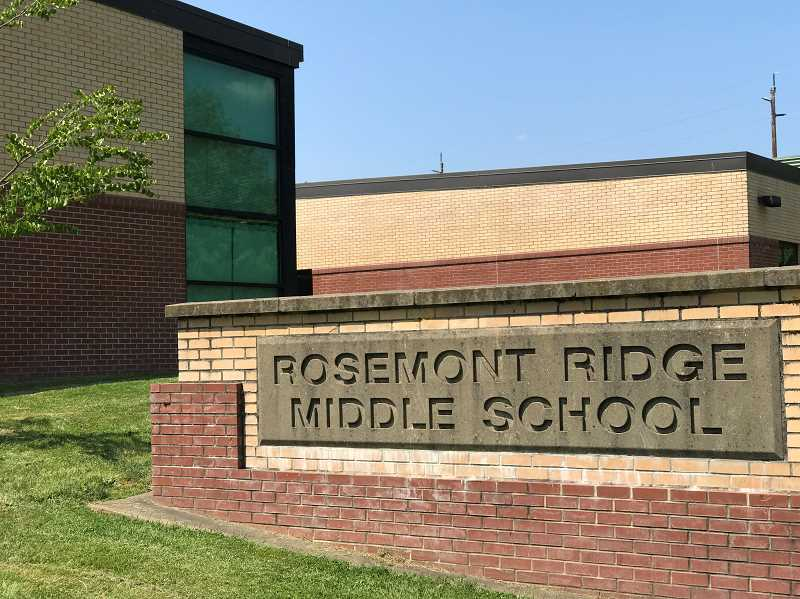 PMG FILE PHOTO - Rosemont Ridge Middle School announced a COVID-19 case Friday, April 2.