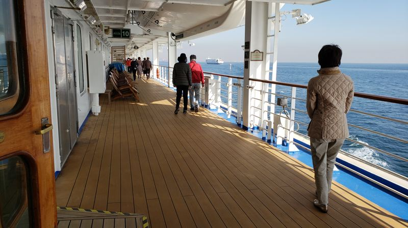 COURTESY PHOTO: HBO - A view of the Diamond Princess as it sailed for a roundtrip tour of Southeast Asia.