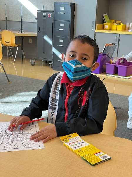 COURTESY PHOTO: BEAVERTON SCHOOL DISTRICT - As part of hybrid learning, students inside the Beaverton School District must wear masks when receiving in-person instruction.